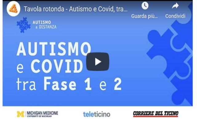 """Due nostri consiglieri alla tavola rotonda """"COVID: Famiglie e Autismo tra fase 1 e 2"""""""