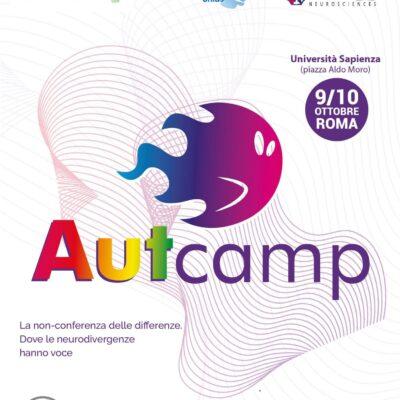 AUTcamp 2021 a Roma il 9 e 10 Ottobre